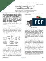 Performance Characteristics of Servo and Stepper Motors