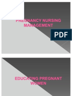 Pregnancy Nursing Management. (020810)