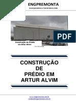 Construção de Prédio Em Artur Alvim