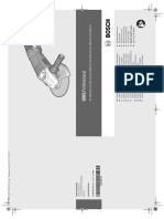 Manual Bosch 22-180 - lixadeira