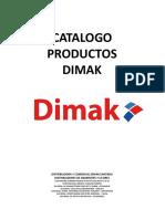 Catalogo Dimak