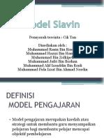 Model Kurikulum Slavin