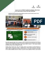 PMKVY _Provision of Insurance Coverage & Digilocker to Certified Candidates under PMKVY