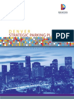 Denver's Strategic Parking Plan