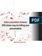Are ZEN Slides Killing Your Presentations