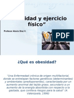 EJERCICIO FÍSICO Y OBESIDAD, PRESENTACIÓN UDLA Alexis Díaz