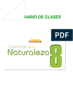 Plan diario Ciencias de la Naturaleza  8-1-1