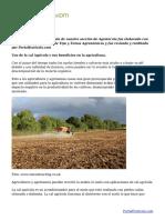 Para que funciona la cal agrícola, su importancia en la agricultura y dosis de aplicación