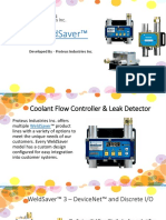 WeldSaver - Coolant Flow Controller Italy