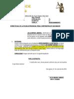 apersonamiento en fiscalía 2