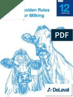delaval milking routine training