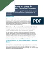 Cómo estructurar un equipo de Marketing para Pequeñas Empresas.docx
