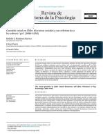 Mardones, Fierro & Salas 2016 Cuestión social en Chile discursos sociales y sus referencias a los saberes psi, 1880-1930
