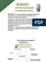 Presentatation BIONANO as biocontrol