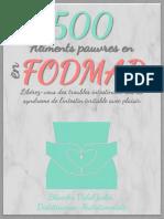Aliments pauvres en FODMAP