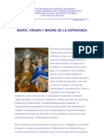 MARÍA, VIRGEN Y MADRE DE LA ESPERANZA
