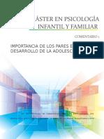 comentario 1 GRUPO PARES.MÁSTER EN PSICOLOGÍA INFANTIL Y FAMILIAR.docx