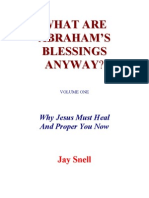 What Are Abraham Blessings
