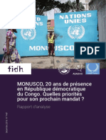 Rapport RDC 20 ans mandat MONUSCO n°746f FR V2 pdf #2 au 12 déc 2019