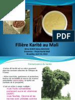 Filiere Karité au Mali
