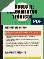 FUNDAMENTOS TEÓRICOS DEL PSICOANÁLISIS