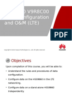 HSS9860 V9R8C00 Data Configuration and O&M (LTE)-20121015-B-V1.0.ppt