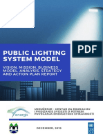 UNDP BIH - Smart Sarajevo - Public Lighting System Model - Energis