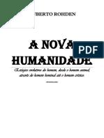 Huberto Rohden - A Nova Humanidade pdf