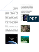 Google Earth, Zotero, Itunes, Ebblog, Evernote
