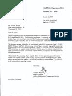 CU v. State FOIA (New DOS Kavalec Emails)