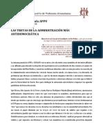 LAS TRETAS DE LA ADMINISTRACIÓN MÁS ANTIDEMOCRÁTICA