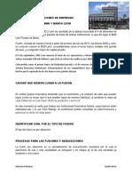 FUSIONES Y ADQUISICIONES DE EMPRESAS BHD y leon
