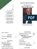 Funeral Liturgy Brennan