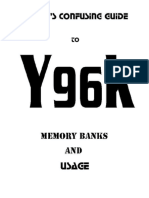 Jason's confusing guide to y96k memory banks and usage