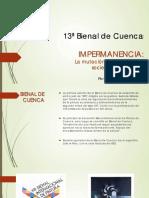 13ª Bienal de Cuenca
