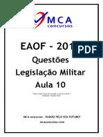 Questões-Legislaçao-Militar-Aula-10
