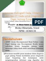 X-ray USG Ct Scan Pada ADHF