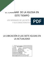 EL CAMINAR  DE LA IGLESIA EN ESTE TIEMPO