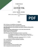 VORSCHULE DER ÄSTHETIK-02-Deutsch-Gustav Theodor Fechner