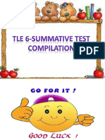 TLE 6 -H.E. SummativeTest No.1