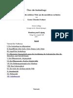 Über Die Seelenfrage Ein Gang Durch Die Sichtbare Welt, Um Die Unsichtbare Zu Finden.-deutsch-Gustav Theodor Fechner