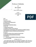 Professor Schleiden Und Der Mond.-deutsch-Gustav Theodor Fechner