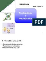 Unidad IX-Nucleotidos y nucleosidos
