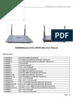 Manual Modem Valenet Gpon Ont User Manual