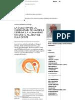 La cuestión de la Humanidad, de Jaurès a Derrida