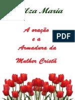 E-book - A Oração e a Armadura da Mulher Cristã - Nilza Maria