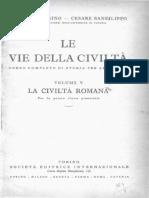 Le vie della civiltà. La civiltà romana Vol. V