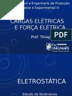 FISICAIII_AULA1_FORÇAS_ELETRICAS