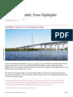 June 2019 Press Highlights