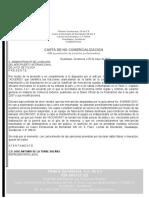 CARTA DE NO COMERCIALIZACION.doc